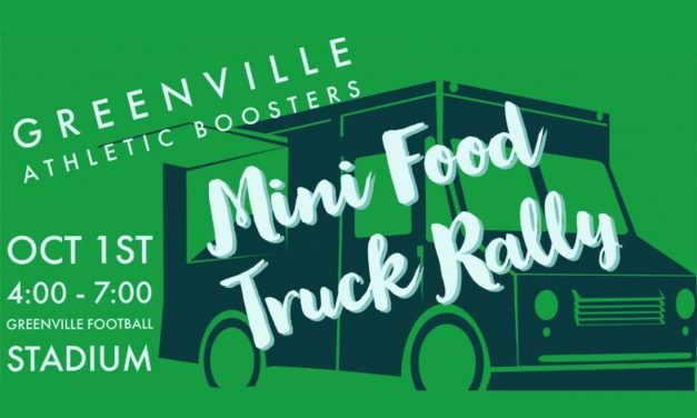 Mini Food Truck Rally Before Greenville Homecoming Game