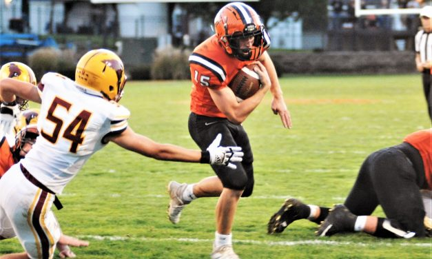 Versailles Tigers hold on to take down the Cardinals.