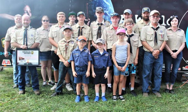Troop and Pack 96 Earn accolades