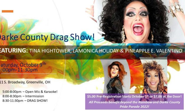 Beyond the Rainbow Invites Community to Darke County Drag Show October 9th