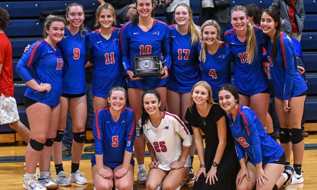 Patriots Win 1st Ever WOAC Volleyball Title