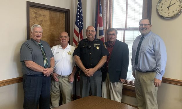 Commissioners appoint Whittaker as interim sheriff, support mental health levy