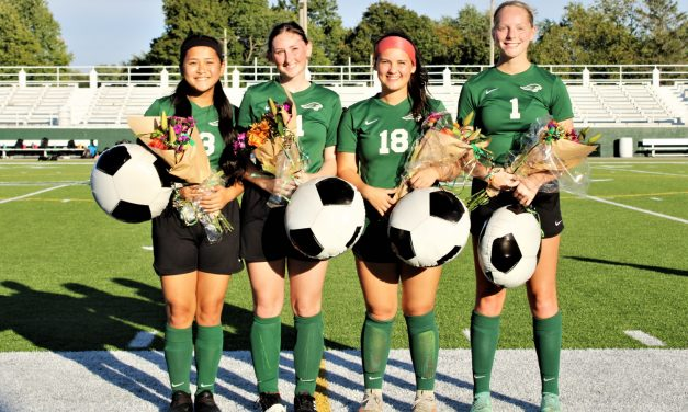 Greenville honors four Lady Wave seniors